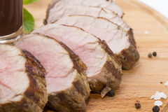 Meat Roasted On A Grill Royalty Free Stock Photo