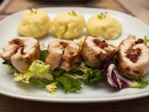 Meat roulade Royalty Free Stock Photo