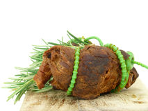 Meat roulade Royalty Free Stock Photos