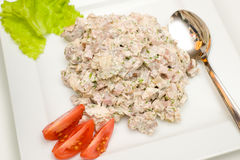 Meat salad Royalty Free Stock Photography