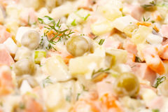 Meat salad Stock Image