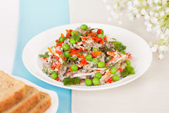 Meat salad Royalty Free Stock Photos