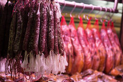 Meat for Sale Royalty Free Stock Images