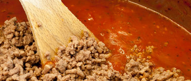 Meat Sauce Royalty Free Stock Image