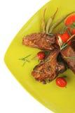 Meat savory: roast ribs Royalty Free Stock Image