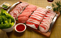 Meat selection Royalty Free Stock Photo