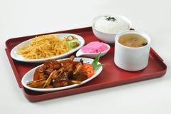 Meat set menu Stock Photography