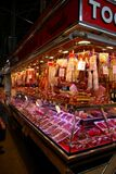 Meat shop, Barcelona, Spain Stock Photography