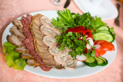 Meat Slices Stock Image