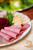 Meat Slices Stock Photography
