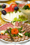 Meat Slices Stock Photo
