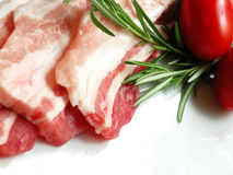 Meat slices Stock Photo