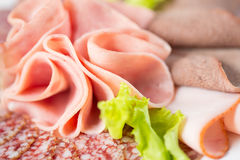 Meat snack closeup Royalty Free Stock Photo