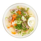 Meat soup Stock Images