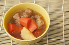 Meat soup Royalty Free Stock Image