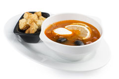 Meat soup Royalty Free Stock Photography