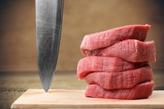 Meat Steaks Royalty Free Stock Photos