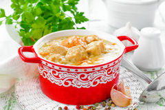 Meat stew Royalty Free Stock Photos