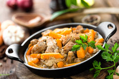 Meat stew Stock Photography