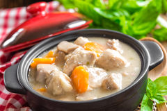 Meat stew Royalty Free Stock Image