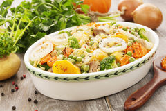 Meat stew with vegetables Stock Photos