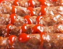Meat sticks Royalty Free Stock Image
