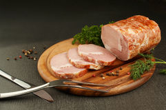 Meat still-life Stock Photography