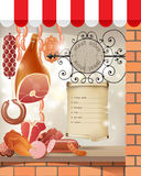 Meat store Stock Photo