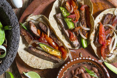 Meat Tacos Stock Photography
