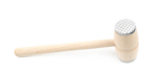 Meat tenderizer hammer  Royalty Free Stock Images