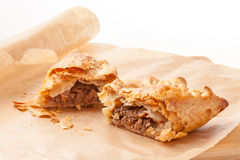 Meat and Vegetable Pasty Stock Image