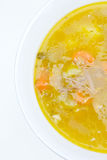 Meat and vegetable soup Stock Photos