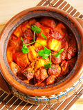 Meat and vegetable stew Stock Photos
