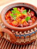 Meat and vegetable stew Royalty Free Stock Images