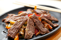 Meat with Vegetables Royalty Free Stock Photos