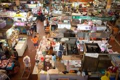 The meat vendors at Tekka market Royalty Free Stock Photo