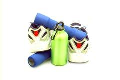 Meatal бутылка питья резвится изолированные ботинки Стоковое Изображение RF