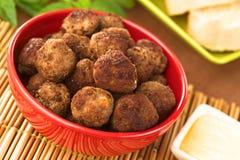 meatball закуски Стоковые Фотографии RF