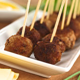 Meatball Appetizer Royalty Free Stock Photography