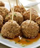 Meatball Appetizers Royalty Free Stock Images