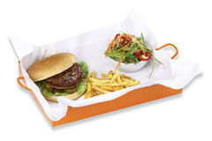Meatball Burger Stock Images