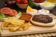 Meatball Burger Stock Photos