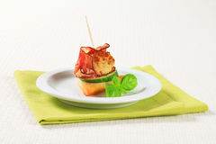 Meatball canape Royalty Free Stock Photos