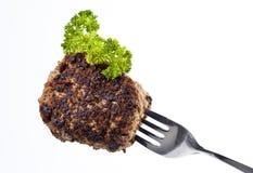 Meatball on a Fork Stock Photos