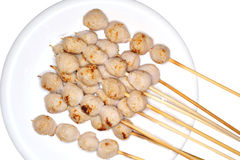 Meatball grilled Stock Photo