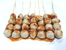 Meatball pork Royalty Free Stock Image