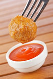 Meatball with sauce Stock Photos