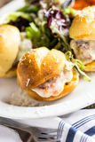 Meatball sliders Royalty Free Stock Photo