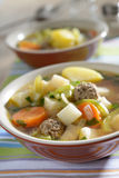 Meatball soup Royalty Free Stock Photo