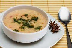 Meatball soup Stock Photo
